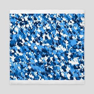 Blue Bunnyflage Queen Duvet