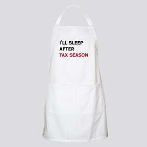 I'll Sleep After Tax Season Apron