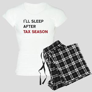 I'll Sleep After Tax Season Women's Light Pajamas