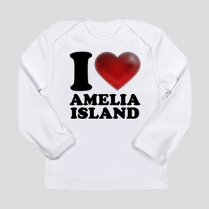 I Heart Amelia Island Long Sleeve T-Shirt