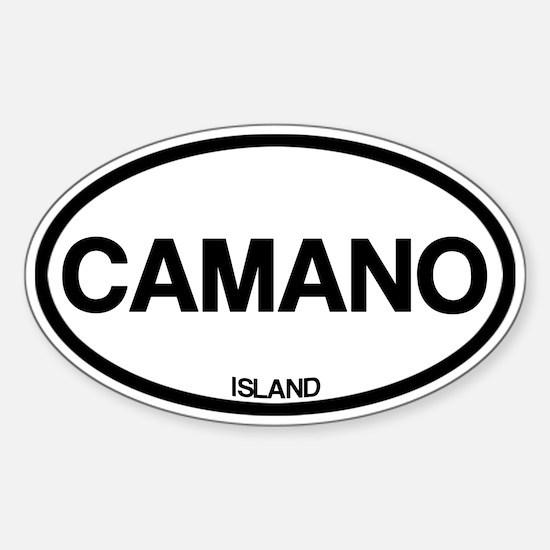 Camano Island Decal