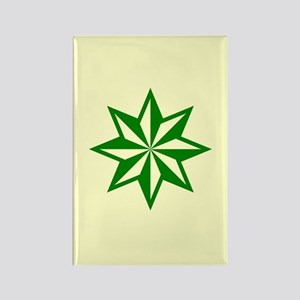Green Guiding Star Rectangle Magnet