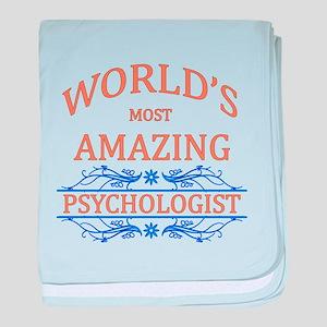 Psychologist baby blanket