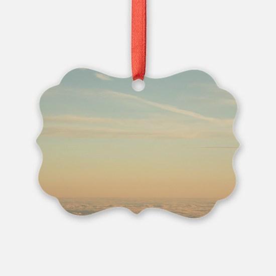 Cute Cumulus clouds Ornament