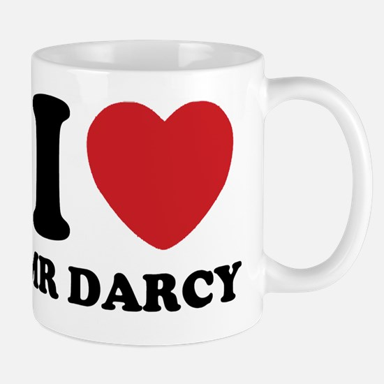 I Heart Mr. Darcy Mug