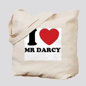 I Heart Mr. Darcy Tote Bag