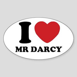 I Heart Mr. Darcy Sticker