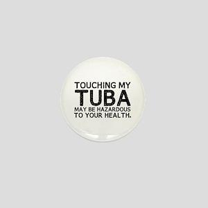 Tuba Hazard Mini Button