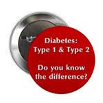Diabetes Types Button