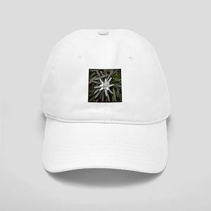 White Alpine Edelweiss Flower Cap