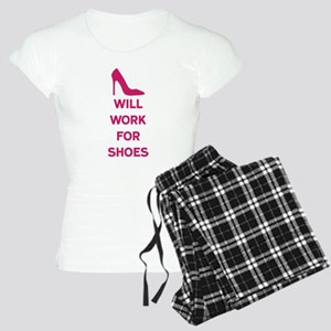 Will Work for Shoes Women's Light Pajamas