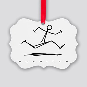 RUNBITCH Picture Ornament