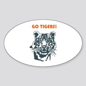 GO TIGERS! Sticker