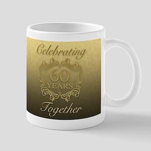 60th Wedding Anniversary Mugs