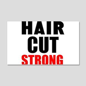 Hair Cut Strong Wall Decal