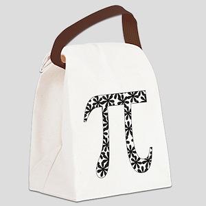 Floral Pi Canvas Lunch Bag