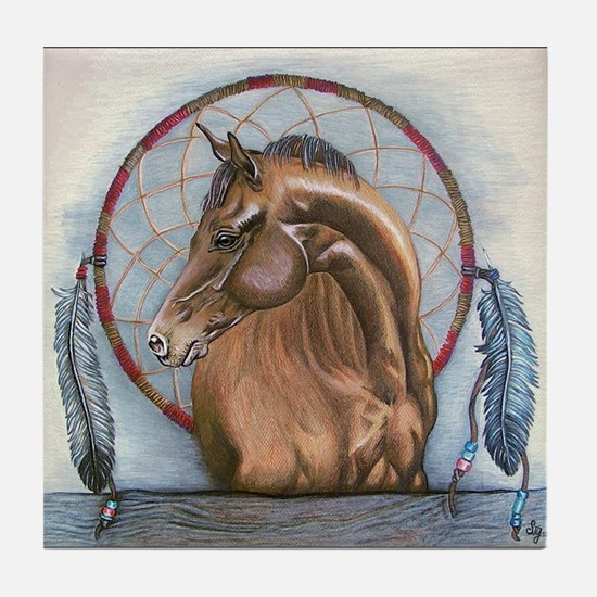 Dream Horse Tile Coaster