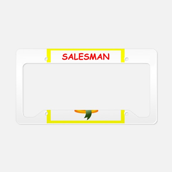 salesman License Plate Holder