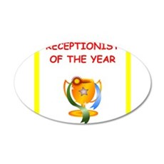 receptionist Wall Decal