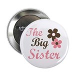 the big sister flower Button