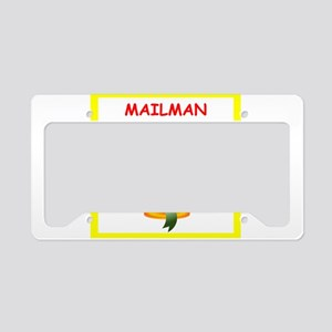 mailman License Plate Holder