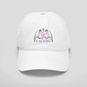 Breast Cancer Awareness Mom Is My Angel Baseball C