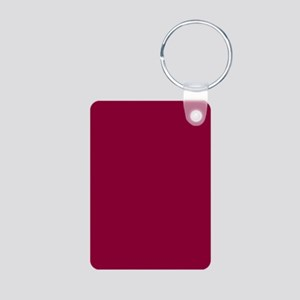Solid red wine Keychains
