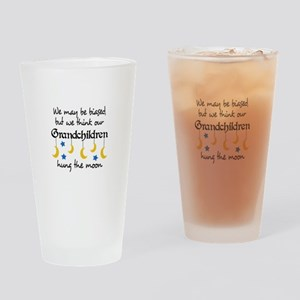 GRANDCHILDREN HUNG THE MOON Drinking Glass