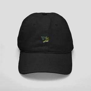 WALLEYE FEAR ME Baseball Hat