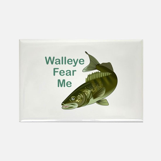 WALLEYE FEAR ME Magnets
