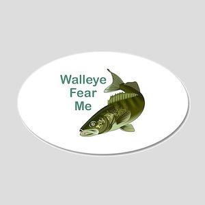 WALLEYE FEAR ME Wall Decal