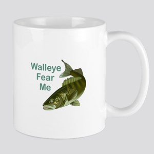 WALLEYE FEAR ME Mugs