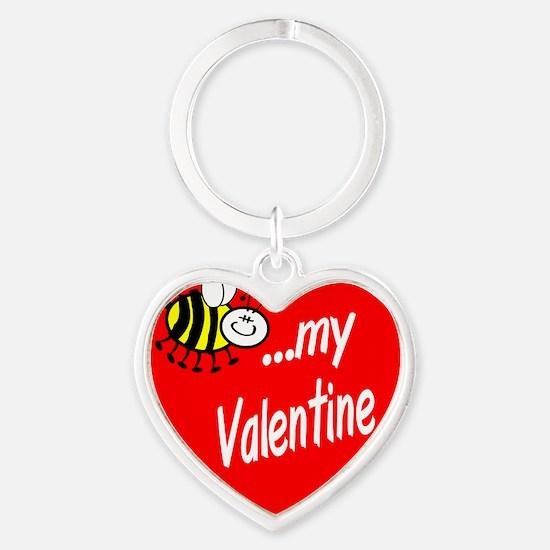 Bee My Valentine Keychains