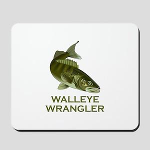 WALLEYE WRANGLER Mousepad