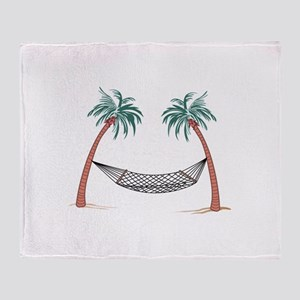HAMMOCK PALMS Throw Blanket