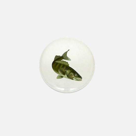 WALLEYE Mini Button