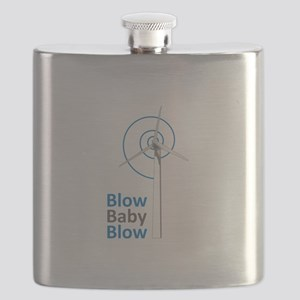 BLOW BABY BLOW Flask