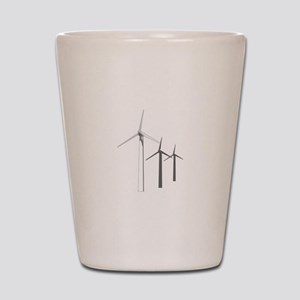 WIND POWER Shot Glass