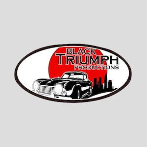 Black Triumph Patches