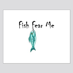 FISH FEAR ME Posters