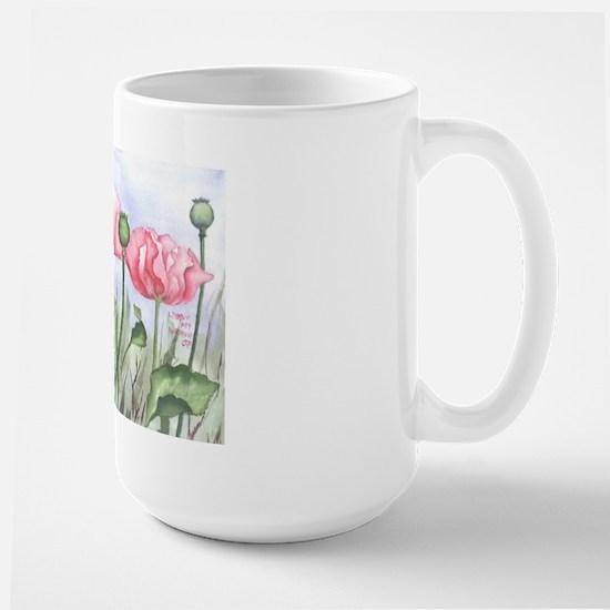 Large Poppy Mug