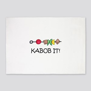 Kabob It! 5'x7'Area Rug