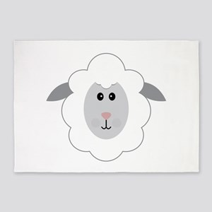Sheep 5'x7'Area Rug