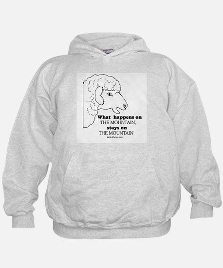What happens on the mountain Hoodie