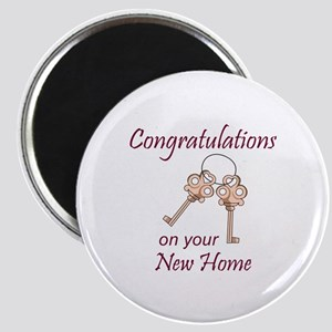 Congratulations On Your New Home Magnets