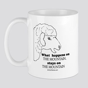 What happens on the mountain Mug