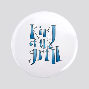 "King Of The Grill 3.5"" Button"