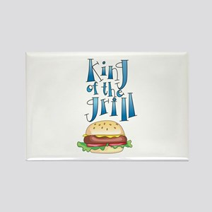 King Of The Grill Burger Magnets