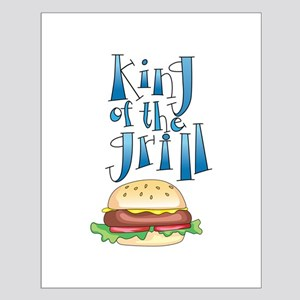 King Of The Grill Burger Posters