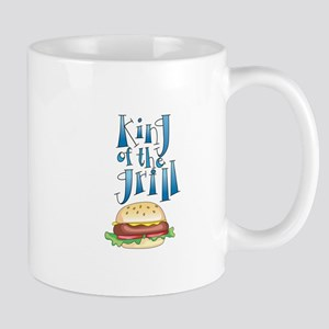 King Of The Grill Burger Mugs